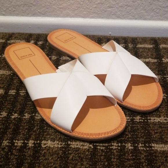 Dolce Vita Shoes   Cain White Sandals